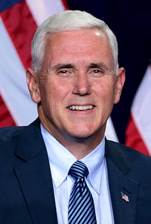 Republican Party vice presidential candidate selection, 2016 - Governor Mike Pence of Indiana was the Republican vice presidential nominee