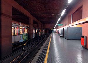 Bonola (Milan Metro) - Image: Milano metropolitana Bonola binari