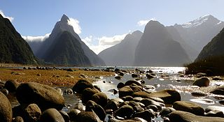 Te Wahipounamu World Heritage Site in the south west corner of the South Island of New Zealand