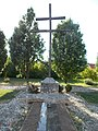 Military Memorial Park, Cross in Eger, 2016 Hungary.jpg