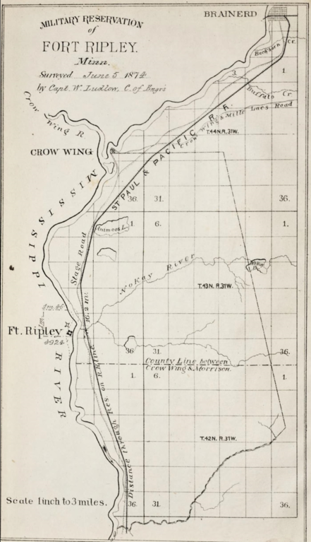 File:Military Reservation of Fort Ripley.png - Wikimedia Commons on