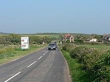A3055 road