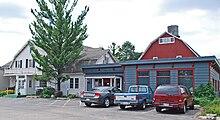 Milk Pail Restaurant From Front Parking Lot