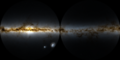 Milky Way 360-degree rendering with foreground stars removed.png