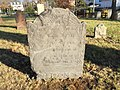 Mill Hill Historic Park 03 - Mill Hill Burying Ground, headstone for Joseph Betts.JPG
