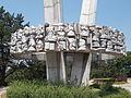 Millennium Monument. Listed ID 793. 'Heads'. South. - Uzsoki street, Öreghegy, Székesfehérvár, Fejér county, Hungary.JPG