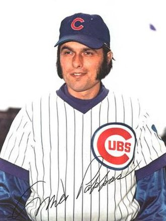 Milt Pappas - Pappas in 1973 with the Chicago Cubs