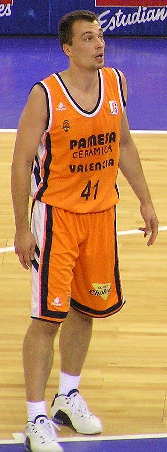 Mindaugas Timinskas - Timinskas with Valencia, in 2005.