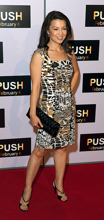 Ming-Na at the January 2009 premiere for Push - Ming-Na Wen
