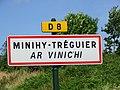 Minihy-Tréguier. Panneau bilingue.jpg