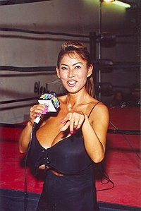 Minka at a MWF independent wrestling promotion