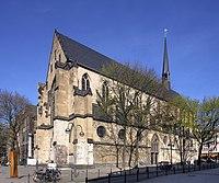 Minoritenkirche Köln im Frühling (1892-94).jpg