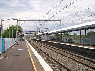 Minto railway station railway station in Sydney, New South Wales, Australia