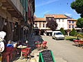 Mirepoix square in summer.JPG