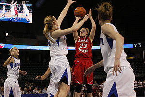 Family Arena -  Illinois State vs Creighton in the 2013 MVC Tournament.
