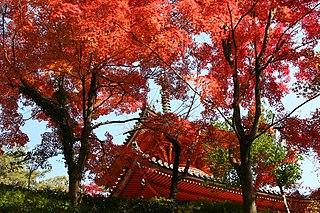Mitaki-dera Buddhist temple in Hiroshima Prefecture, Japan