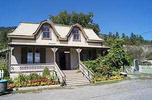 Masajiro Miyazaki - The Miyazaki House in Lillooet, British Columbia, which now serves as a museum.