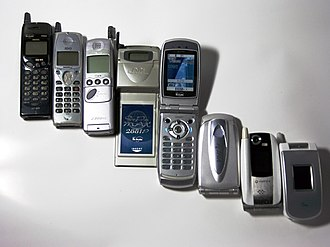 Mobile phone industry in Japan - Japanese mobile phone handsets from 1997 to 2004.