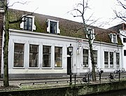 Mondrian's birthplace in Amersfoort, Netherlands, now a museum.