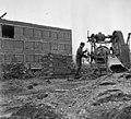 Monor 1969, a Gépjavító Állomás építése. Fortepan 89762.jpg