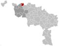 Mont-de-l'Enclus Hainaut Belgium Map.png