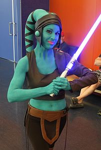 Montreal Comiccon 2015 - Aayla Secura (cropped 2).jpg