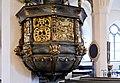 Mora kyrka pulpit detail.jpg