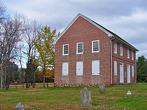 Woolwich Township, New Jersey - Moravian Church