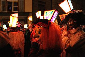 Swabian-Alemannic Fastnacht - Morgestraich in Basel (2013)