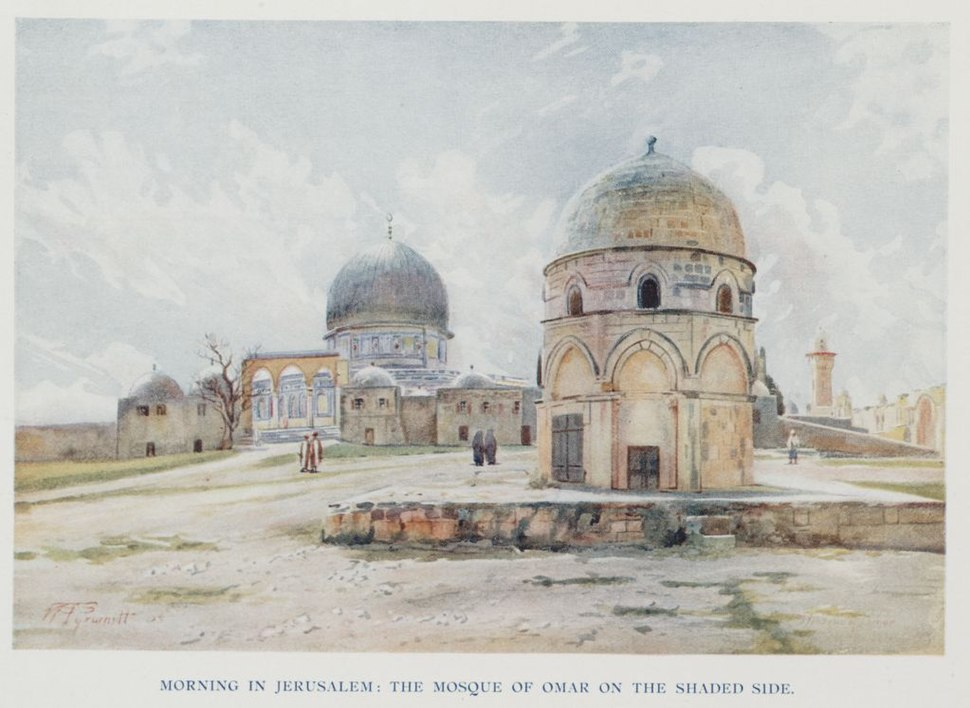 Morning in Jerusalem The Dome of the Rock on the Shaded Side. (1907) - TIMEA