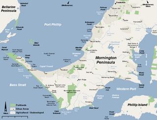 Mornington Peninsula peninsula and region of Victoria, Australia