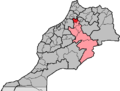 Morocco, region Meknès-Tafilalet, préfecture Meknès.png