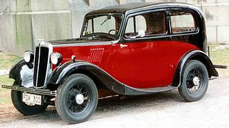 Morris Eight - 2-door saloon