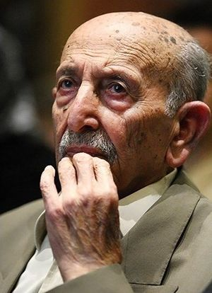 Morteza Ahmadi - Ahmadi in his 89th birthday in 2013