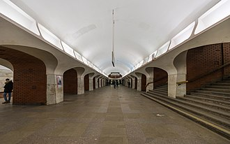 Borovitskaya (Moscow Metro) - Image: Mos Metro Borovitskaya asv 2018 01