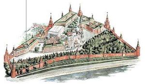 Kremlin Armoury - Image: Moscow Kremlin map The Armoury