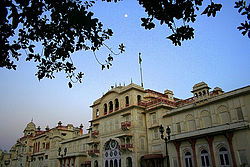 Moti Bagh Palace, Patiala now houses the National Institute of Sport.