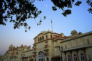 Patiala district - Moti Bagh Palace, Patiala now houses the National Institute of Sport.