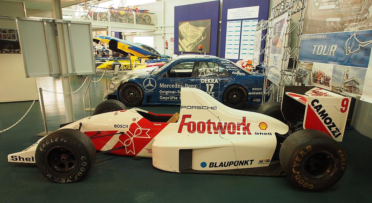 Px Motor Sport Museum Am Hockenheimring C Footwork Porsche A C C Pic
