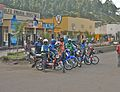 Motorcycle taxis in Gisenyi - Flickr - Dave Proffer.jpg