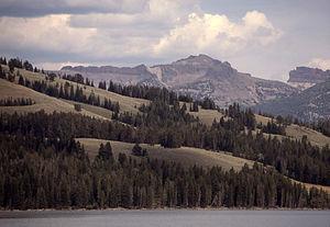 Mount Schurz - Image: Mount Schurz YNP