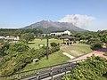 Mount Sakurajima from Sakurajima Lava Beach Park 3.jpg