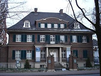 Die Villa ten Hompel.
