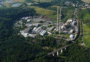 Ore Mountain Mining Region - Muldenhütten smelting complex