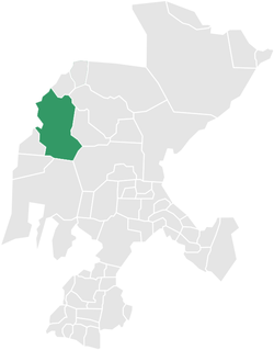 Location of municipality