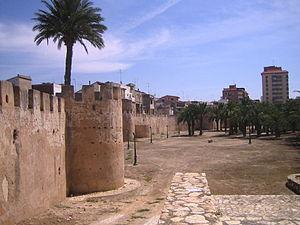Alzira, Valencia - Moorish walls