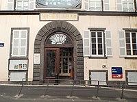 Muséum d'histoire naturelle Henri-Lecoq, Clermont-Ferrand, entrée.jpg
