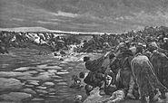 Myrbach-Crossing of the Berezina