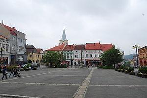 Valašské Meziříčí - Town square