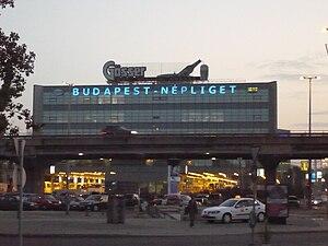 People's Park (Budapest) - Népliget bus station